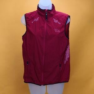 Mountain Hardwear Women Vest lightweight sz M red